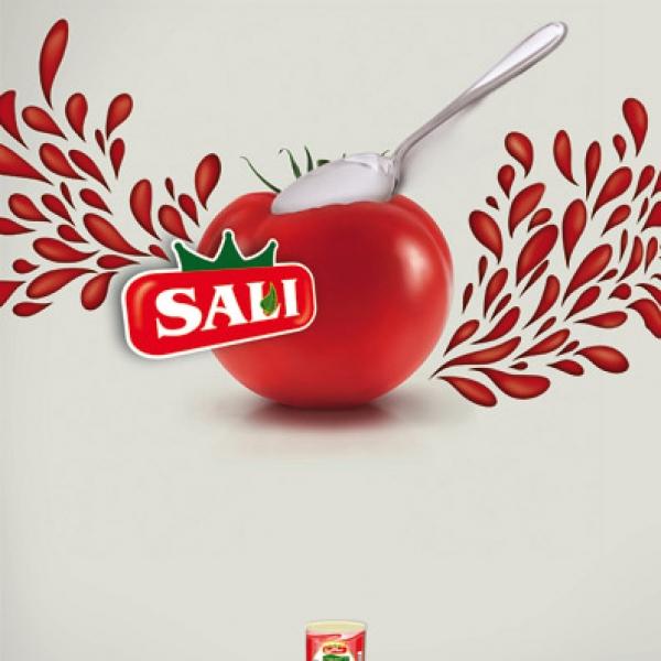 طراحی گرافیک مواد غذایی سالی