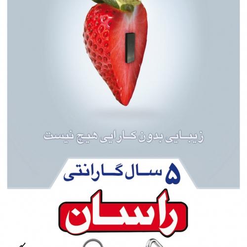 طراحی گرافیک شیرآلات راسان