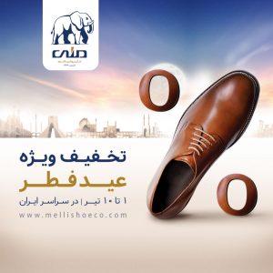 تبلیغات محیطی کفش ملی